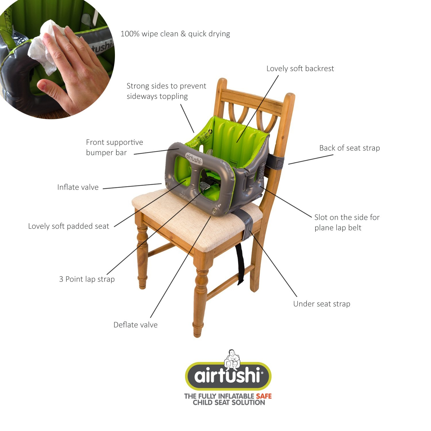 Toddler Camping Chair (User Manual)