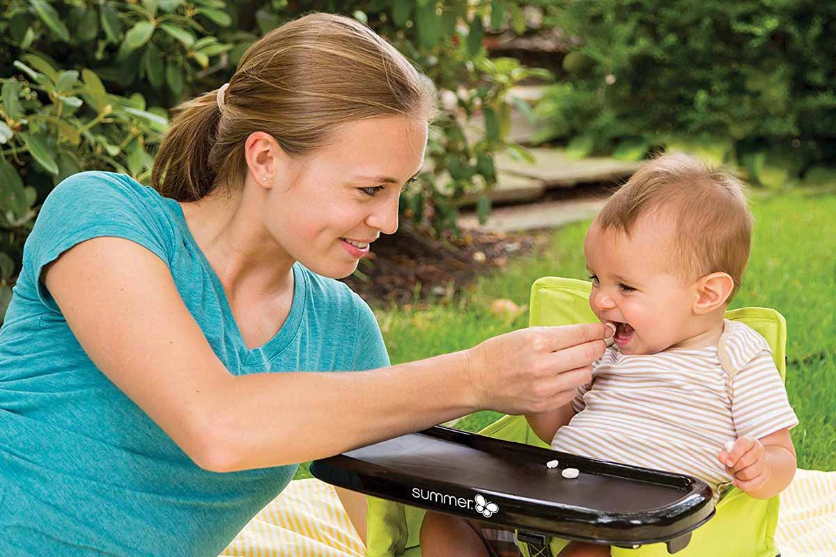 Baby Camping Chair (With Baby)