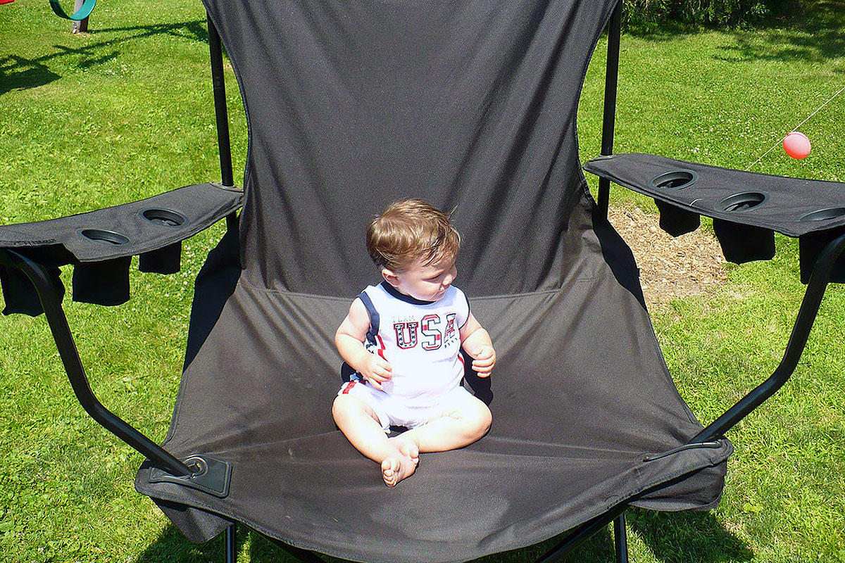 best baby camping chair