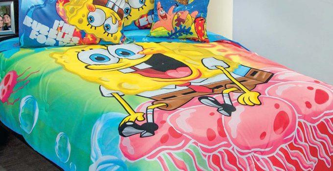 spongebob bedding set