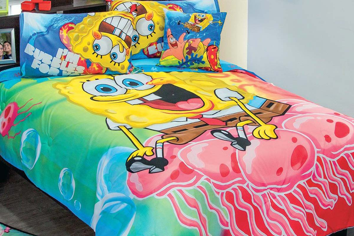 spongebob bedding set