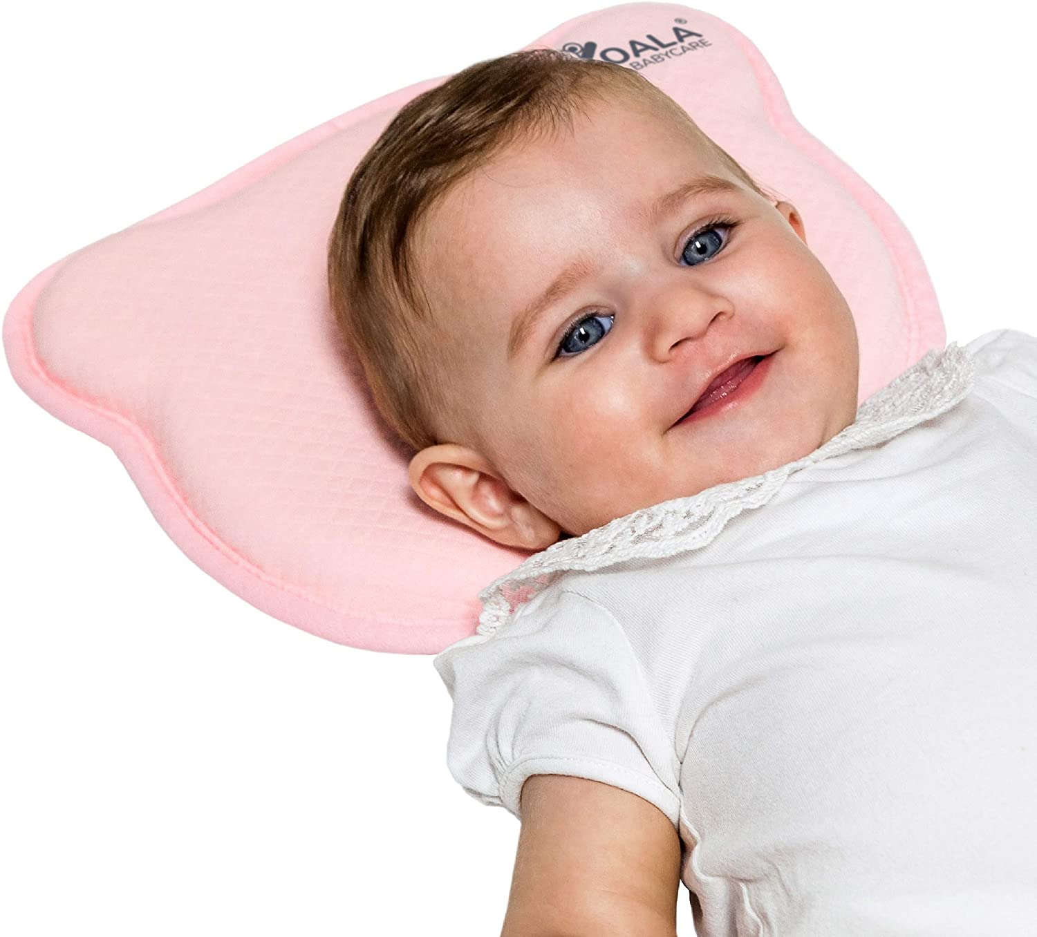 MIMOS® Baby Pillow for Baby Flat Head Syndrome (Plagiocephaly) - Airflow Safe Medical Baby Pillow (Medium)