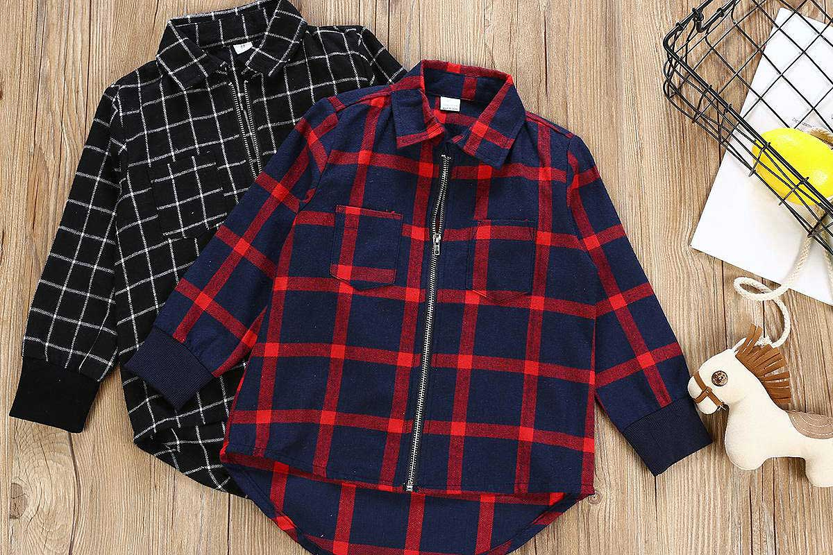 Plaid Shirts For Toddlers Girls