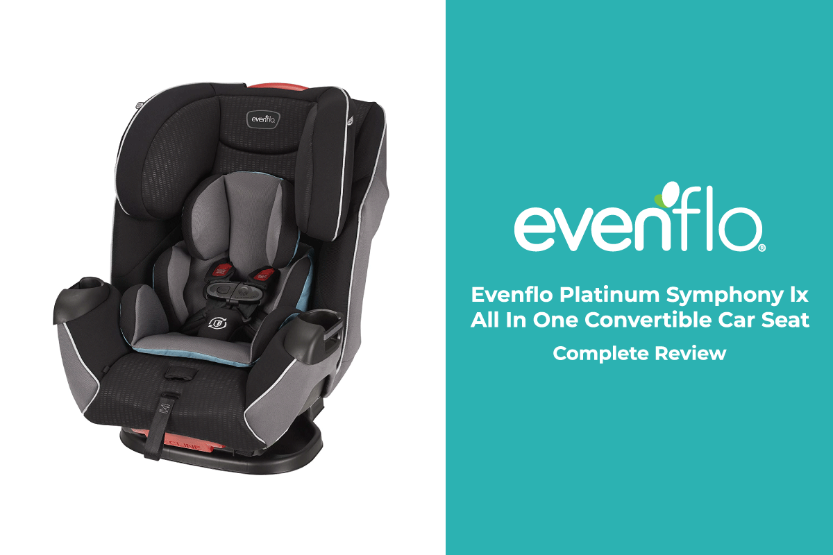 Evenflo platinum symphony lx all in one convertible car seat