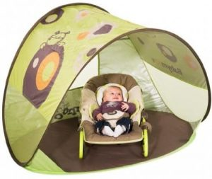 Babymoov Anti-UV Beach Tent   UPF 50+ Sun Protection with Pop Up System for Easy Use and Travel, Parasol