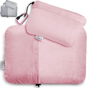 Chill-o Travel Pillow with Solid Memory Foam