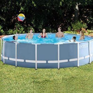 "Intex Round Prism Frame Pool Set   15ft x 48""   26725EH model"