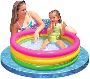 Intex Sunset Glow Baby Pool (34 in x 10 in)