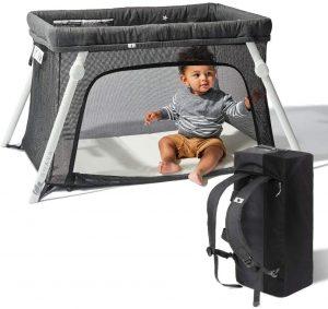 Lotus Travel Crib and Portable Baby Playard by Guava Family